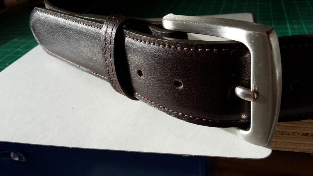 ceinture chocolat avec renfort