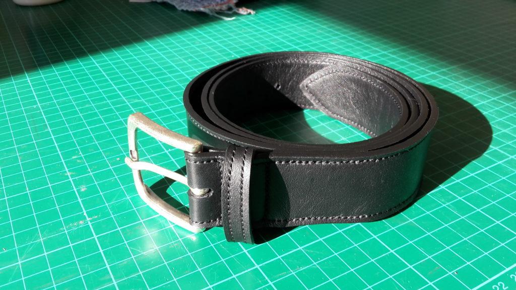 ceinture noire sans renfort