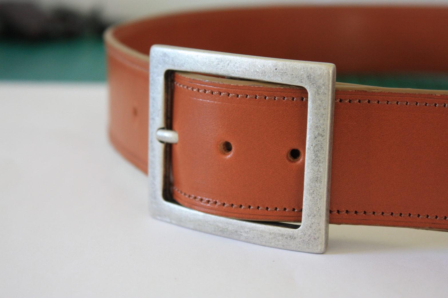 ceinture coloris cognac